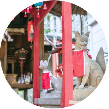 稲荷神社の写真